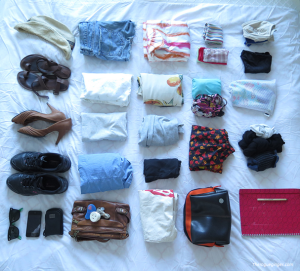 Travel_rolling,folding or bundling